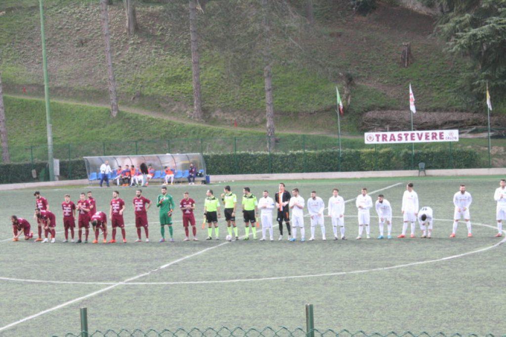 Just before kickoff of FC Trastevere vs. Cynthia.