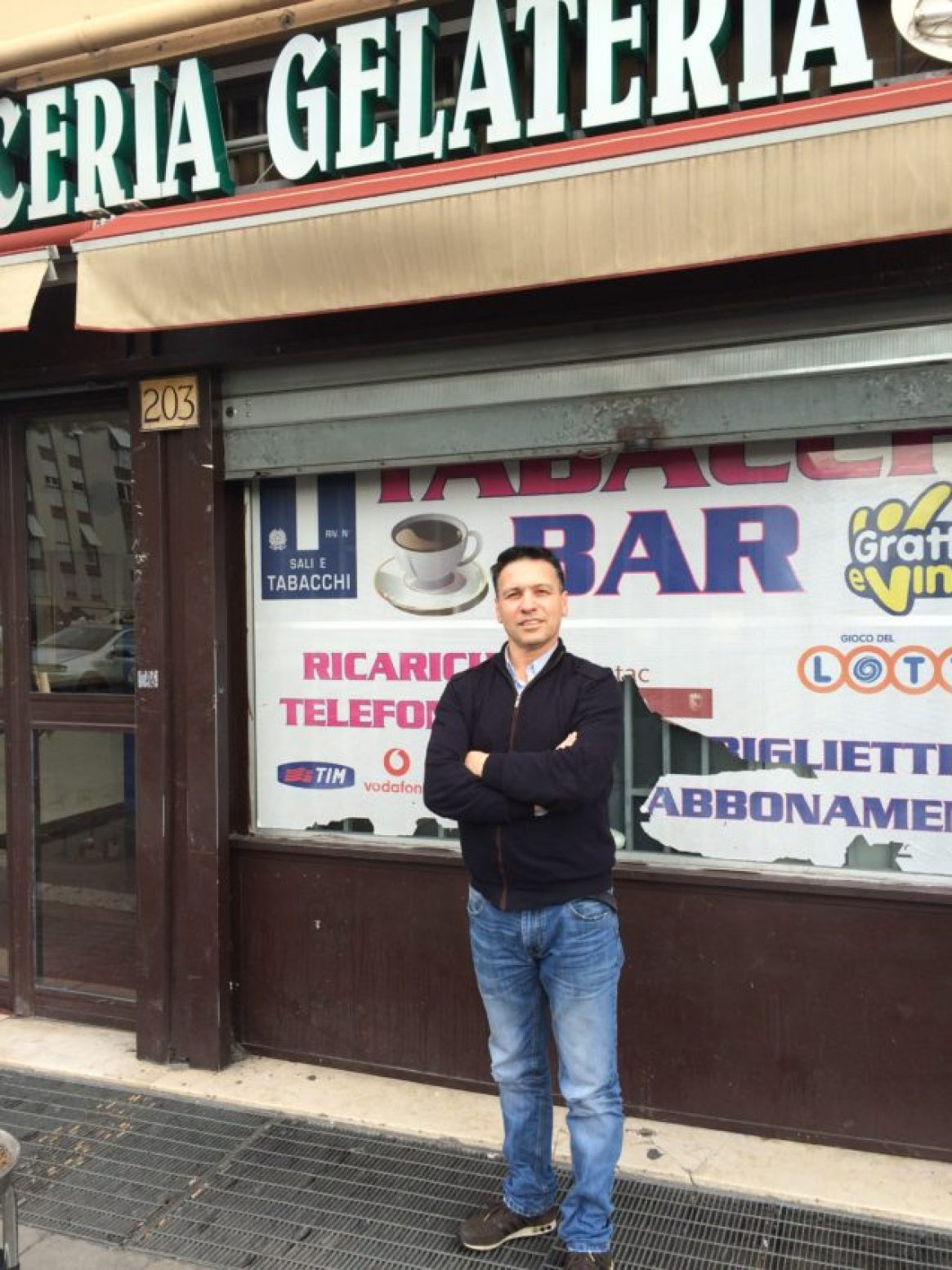 Rocco Sansotta moved to Rome from London, Ontario, in 1986 and took off his dad's bar in 1996.