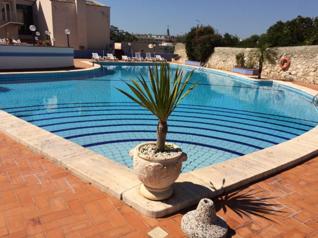 The Villa Politi pool.