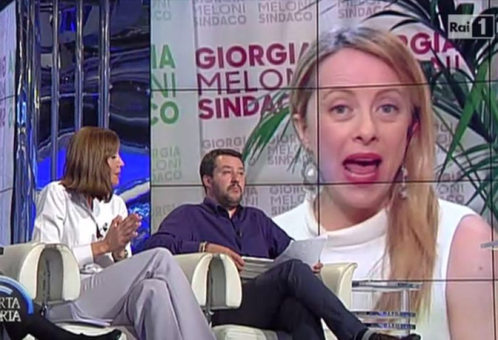 Italian TV consists mostly of a lot of screaming on panel discussions.