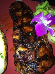 Bastien's sugar steak.