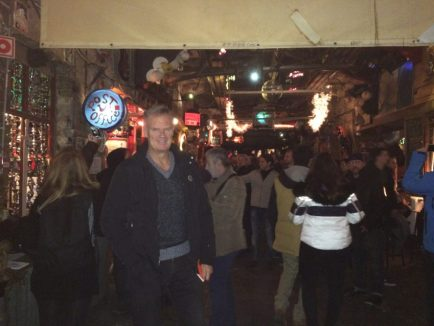 """Szimpla Kert is one of the many """"ruin"""" bars popping up around Budapest."""