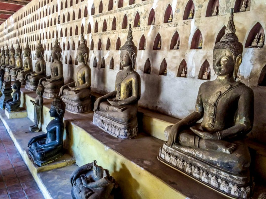 Laos remains a center for Buddhist study despite communism's past efforts to curb religion.