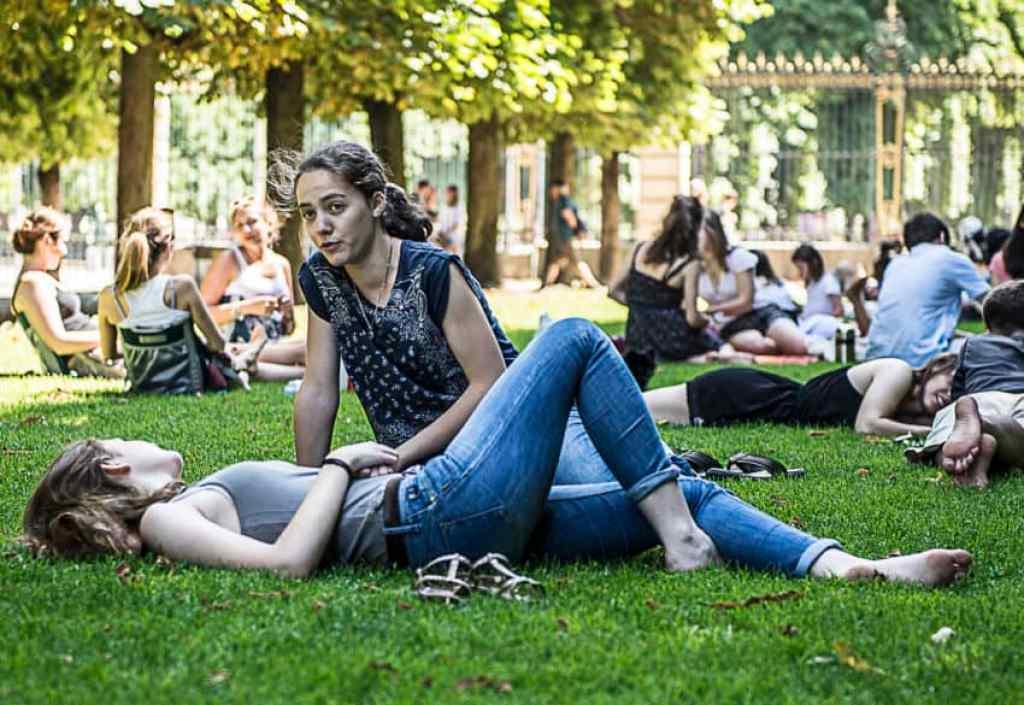 Jardin du Luxembourg. Photo by Marina Pascucci