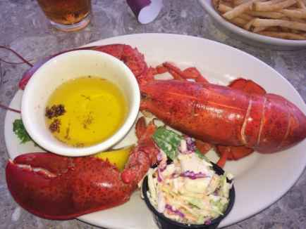 Maine fishermen caught 130 million pounds of lobsters last year.