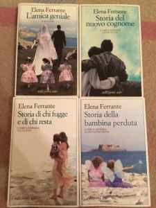 Elena Ferrante wrote four novels about life in post-war Naples.