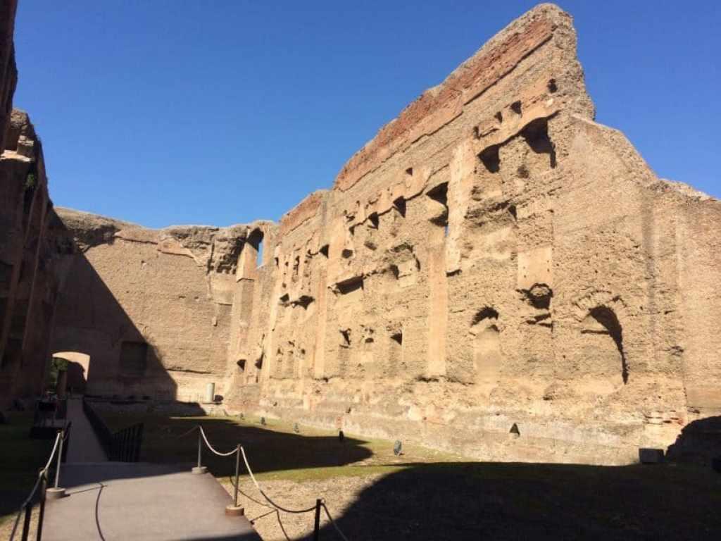 The walls stood 20 meters.
