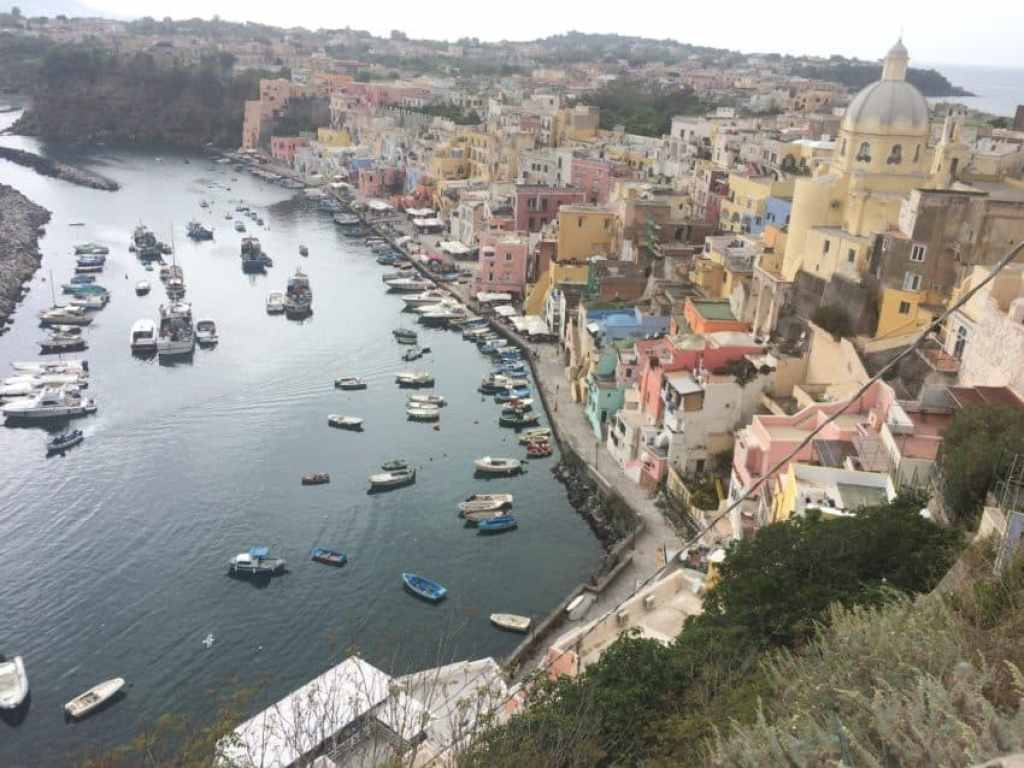"""Procida was the site of the hit 1995 film """"Il Postino."""" Photo by Marina Pascucci"""