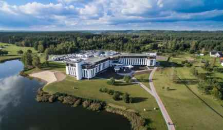 Vytautas Mineral Spa was built last January. Photo by Booking.com
