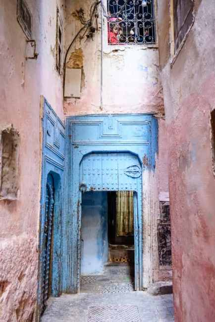 Fez's Jewish Quarter, the Mellah, was once home to 250,000 Jews. Now there are only 70-80. Photo by Marina Pascucci
