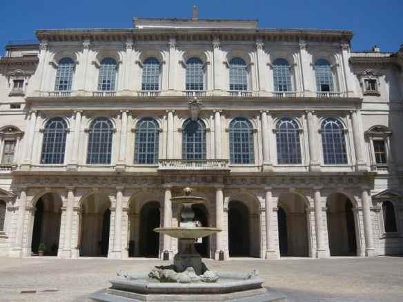Palazzo Barberini. Wikipedia photo