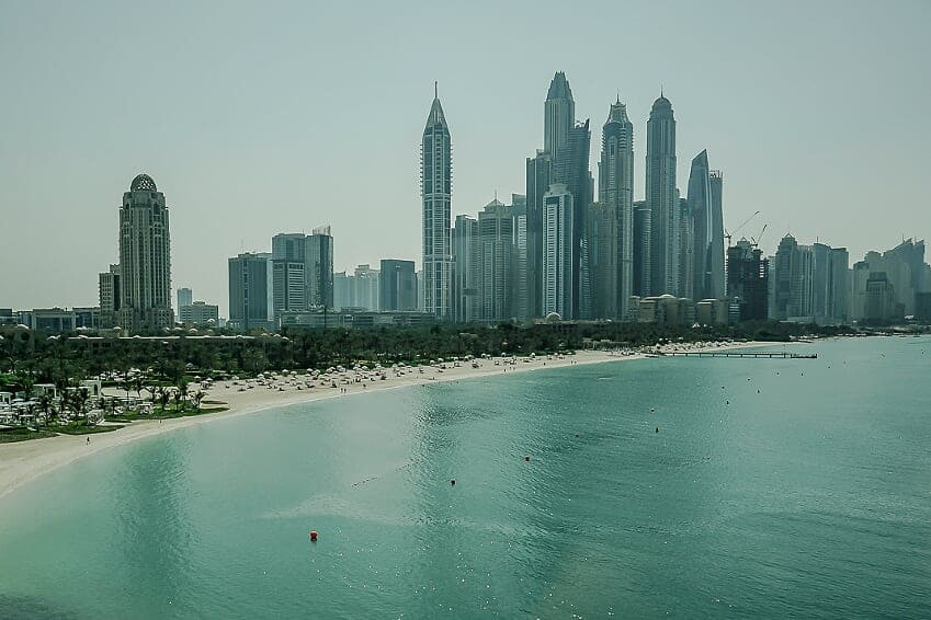 Only 10 percent of Dubai's population are natives.