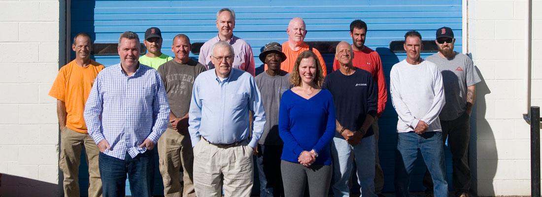 John Henry Roofing Team Photo