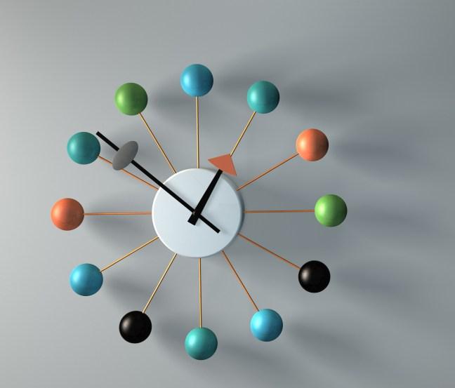 3D Clock, CInema 4D
