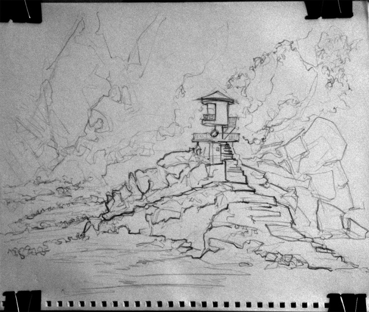 01-17-11-bwb-lifegaurd-tower-1-sketch