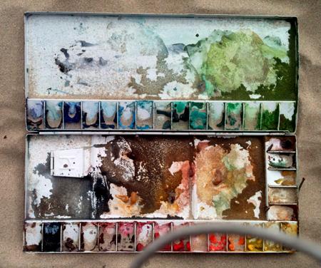 sandy-paint