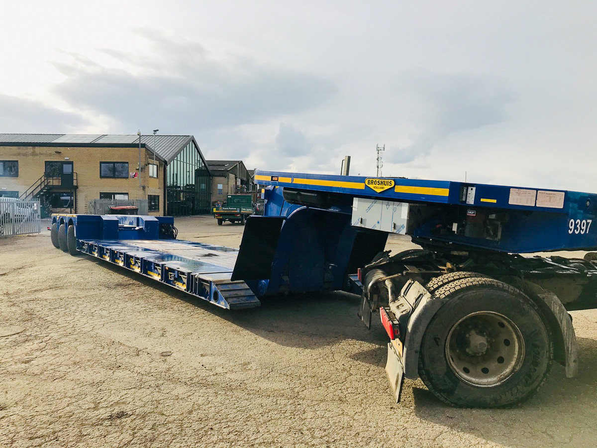 Broshuis 3 Axle Low Loader