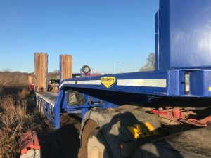 Broshuis 2016 4 axle plant machinery carrier trailer