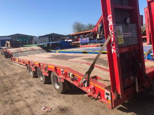 Montracon 3 Axle Plant Trailer with Ramps