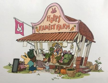 Bunny Burrow shop