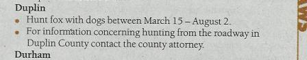 Duplin County Regulation 2009