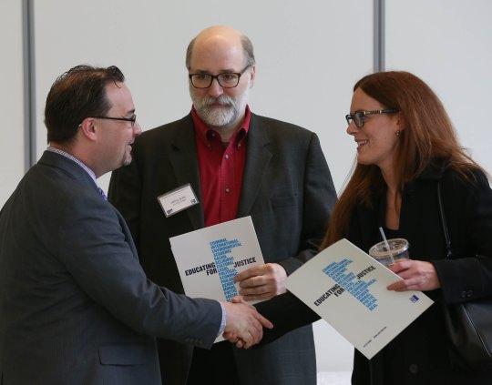 Tom Andriola (DCJS), Jeffrey Butts (John Jay), Carson Hicks (CEO)