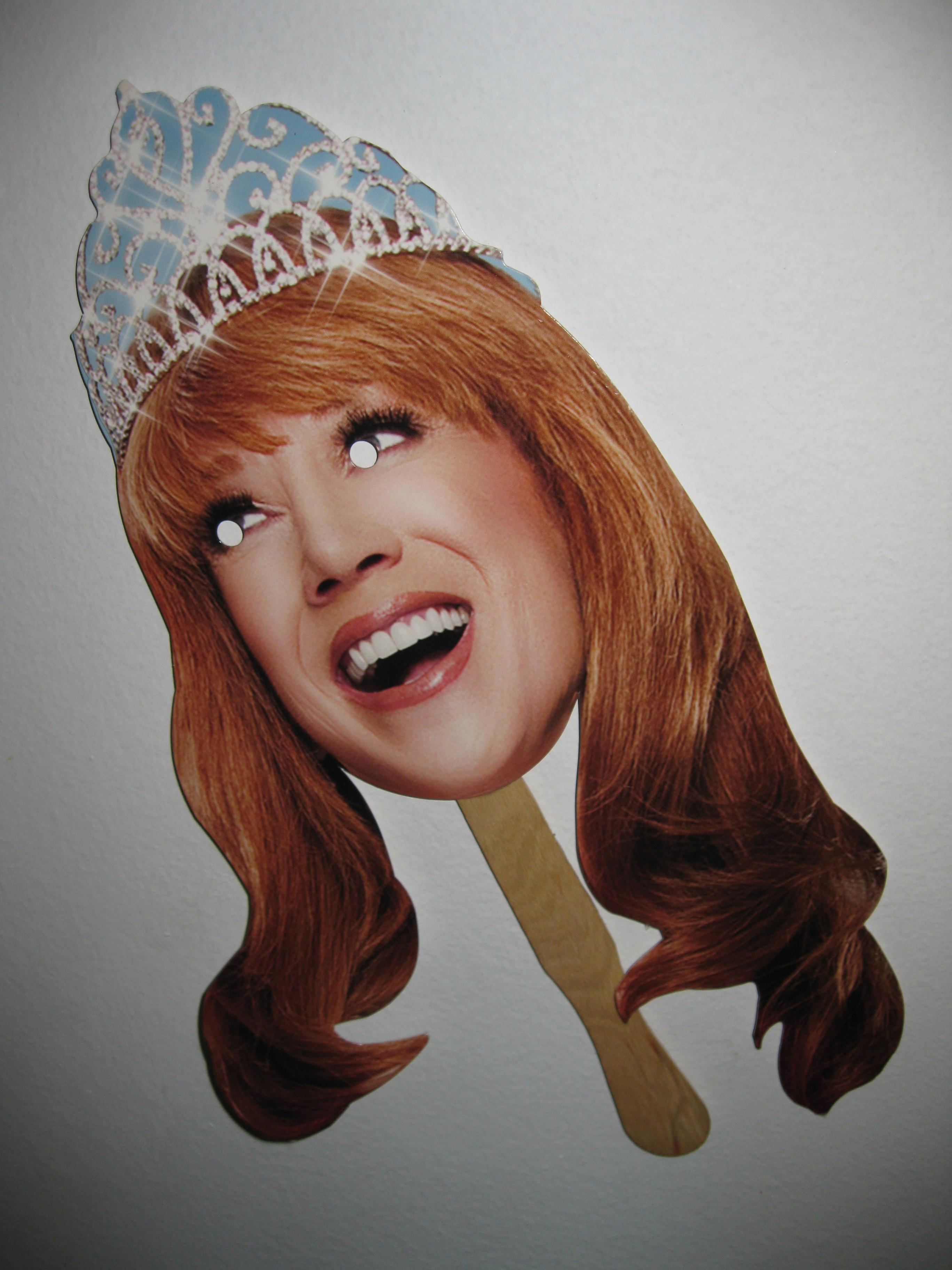 Kathy Griffin Head