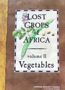 Lost Crops of Africa Vol 2: Vegetables
