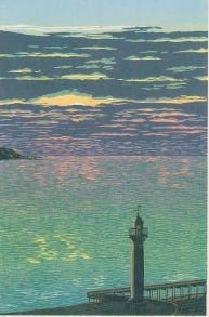 Reduction Linoprint, 39 x 26cm Edition of 25 prints. (NFS)