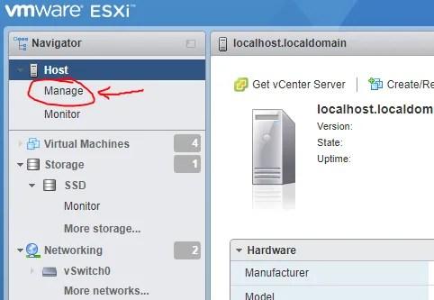 VMware ESXi 6 7: Autostart VMs - JohnKeen tech