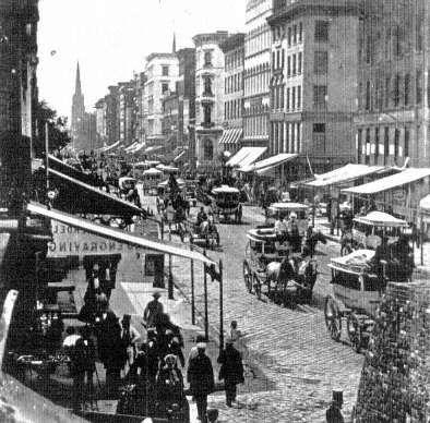 Broadway, 1870s