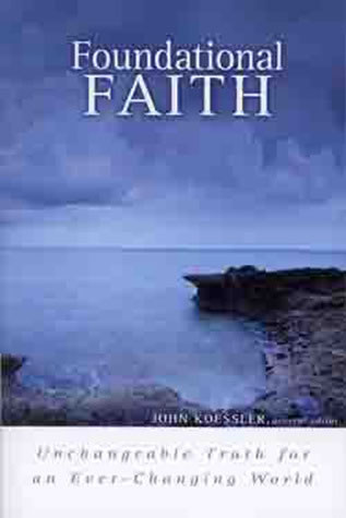 Cover of Foundational Faith by John Koessler