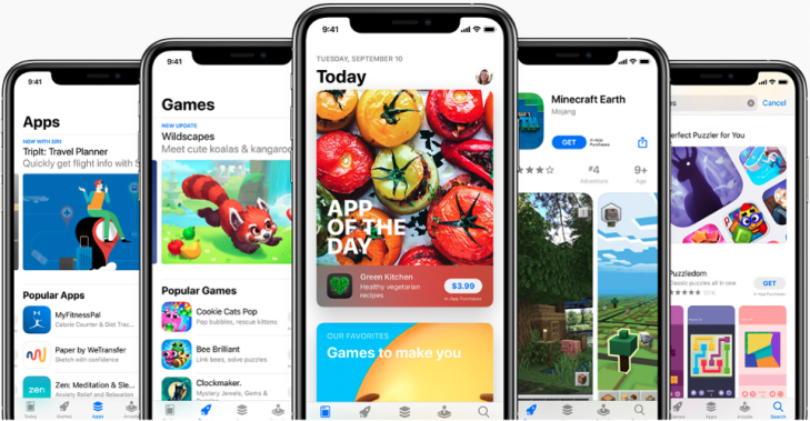 App Store submission guidelines