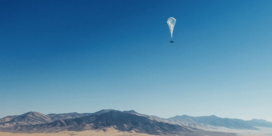 google loon internet balloon