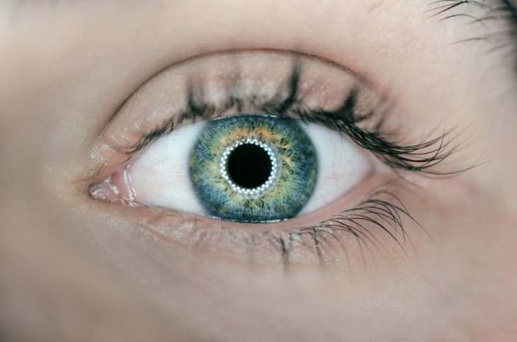 eye smart contact lens
