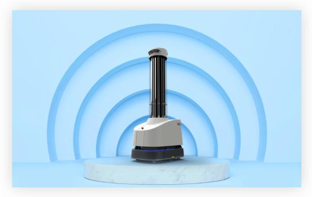 UVD Robot by Blue Ocean Robotics