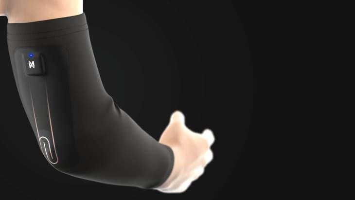 nextiles arm sleeve wearable tech