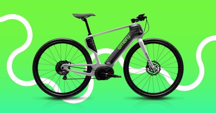 carbon fiber 3D printed e-bike