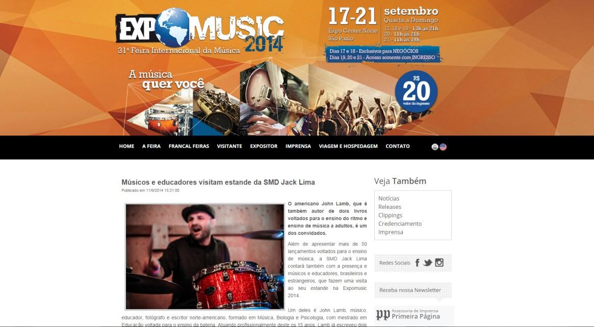 John Lamb @ ExpoMusic
