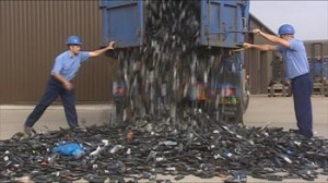 How many phones go to landfill? Why not recycle them for free!