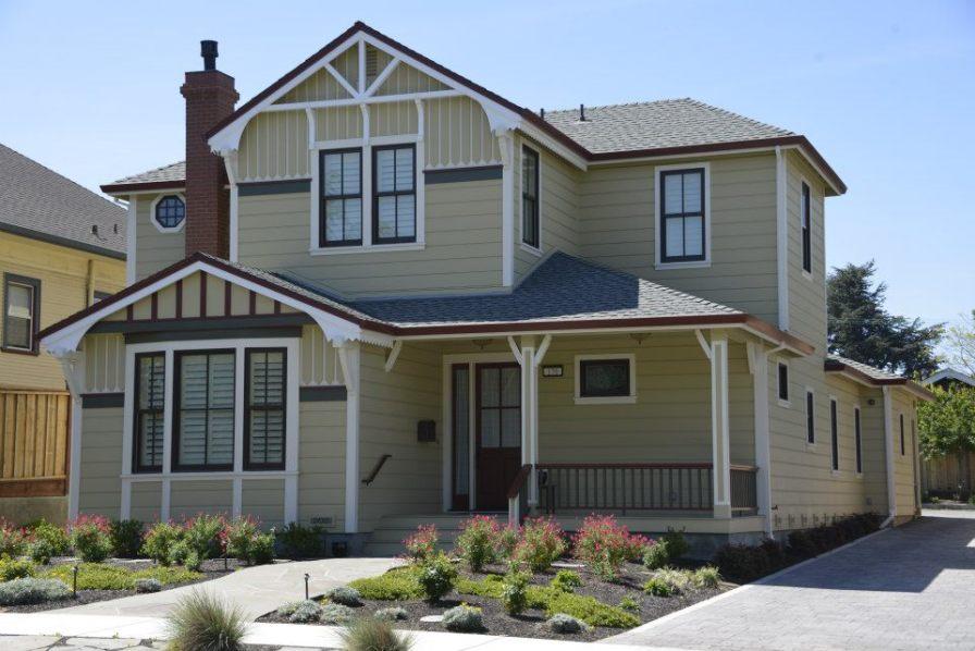 Complete custom home