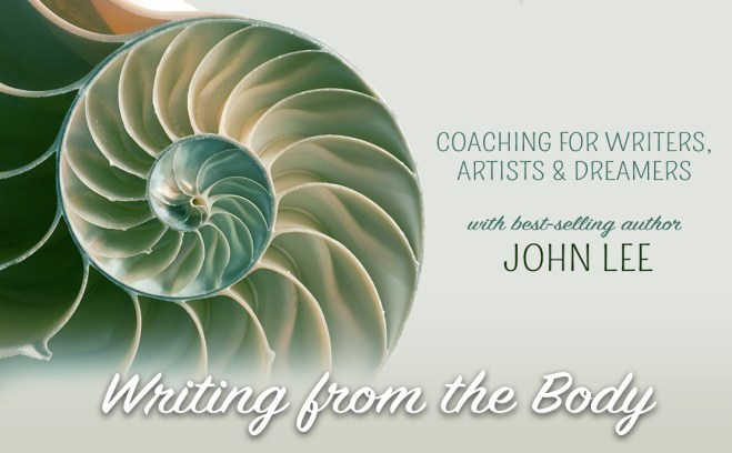 nautilus shell image for Writing From the Body: Coaching and Workshop for Writers, Artists and Dreamers with best-selling author, John Lee