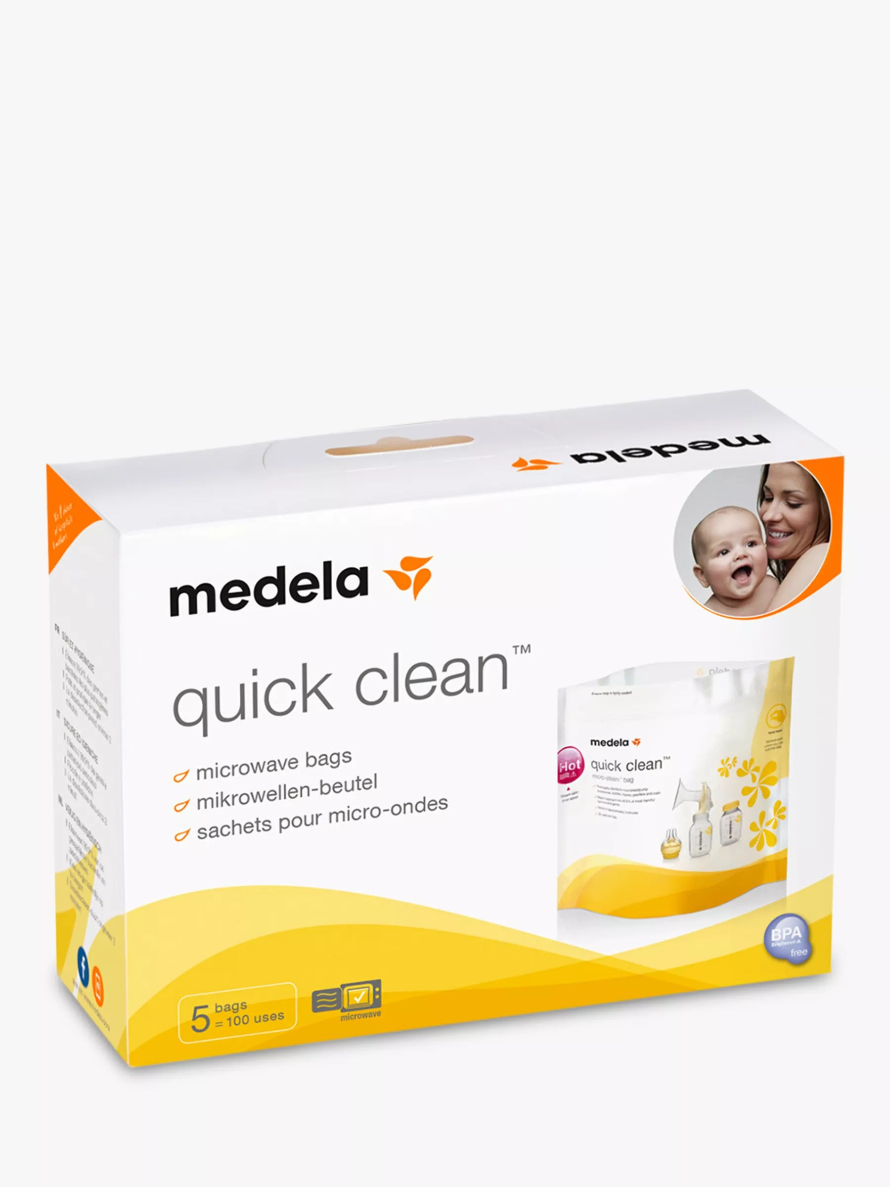 medela quick clean microwave bags pack of 5