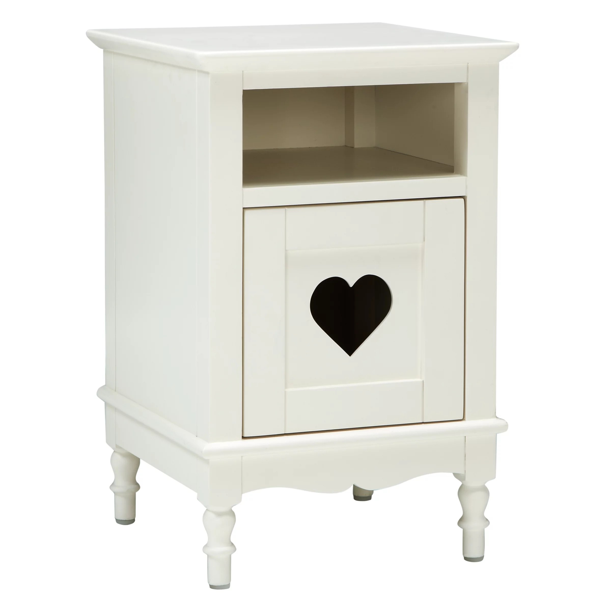 Little Home At John Lewis Victoria Bedside Table White