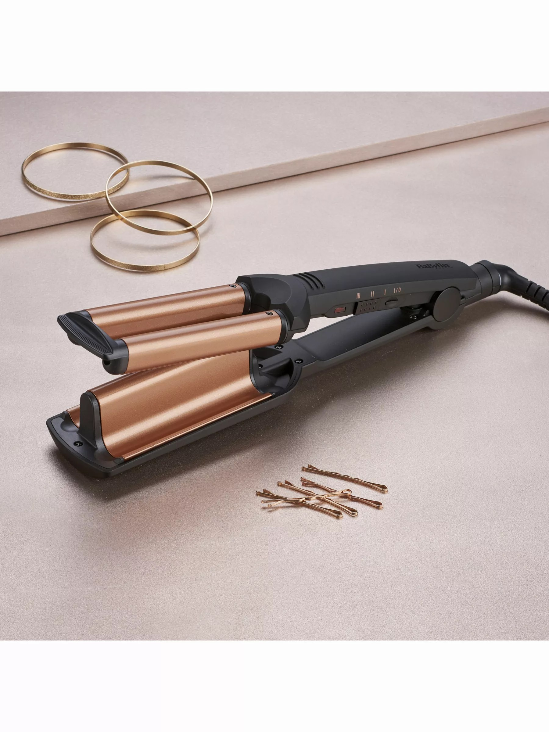 BaByliss Boutique Salon Deep Waves Hair Styler At John Lewis