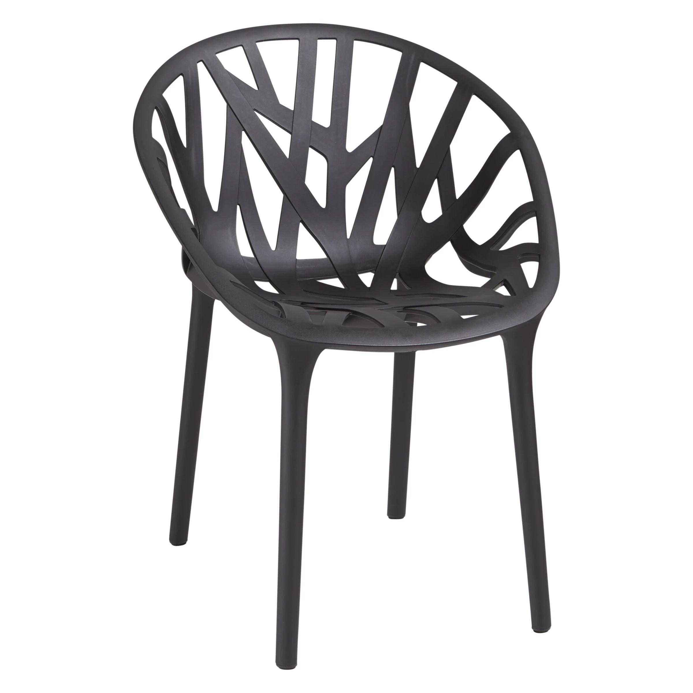 Vitra Vegetal Chair   Black at John Lewis