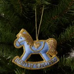 Tinker Tailor Tourism Baby S First Christmas Rocking Horse Decoration At John Lewis Partners