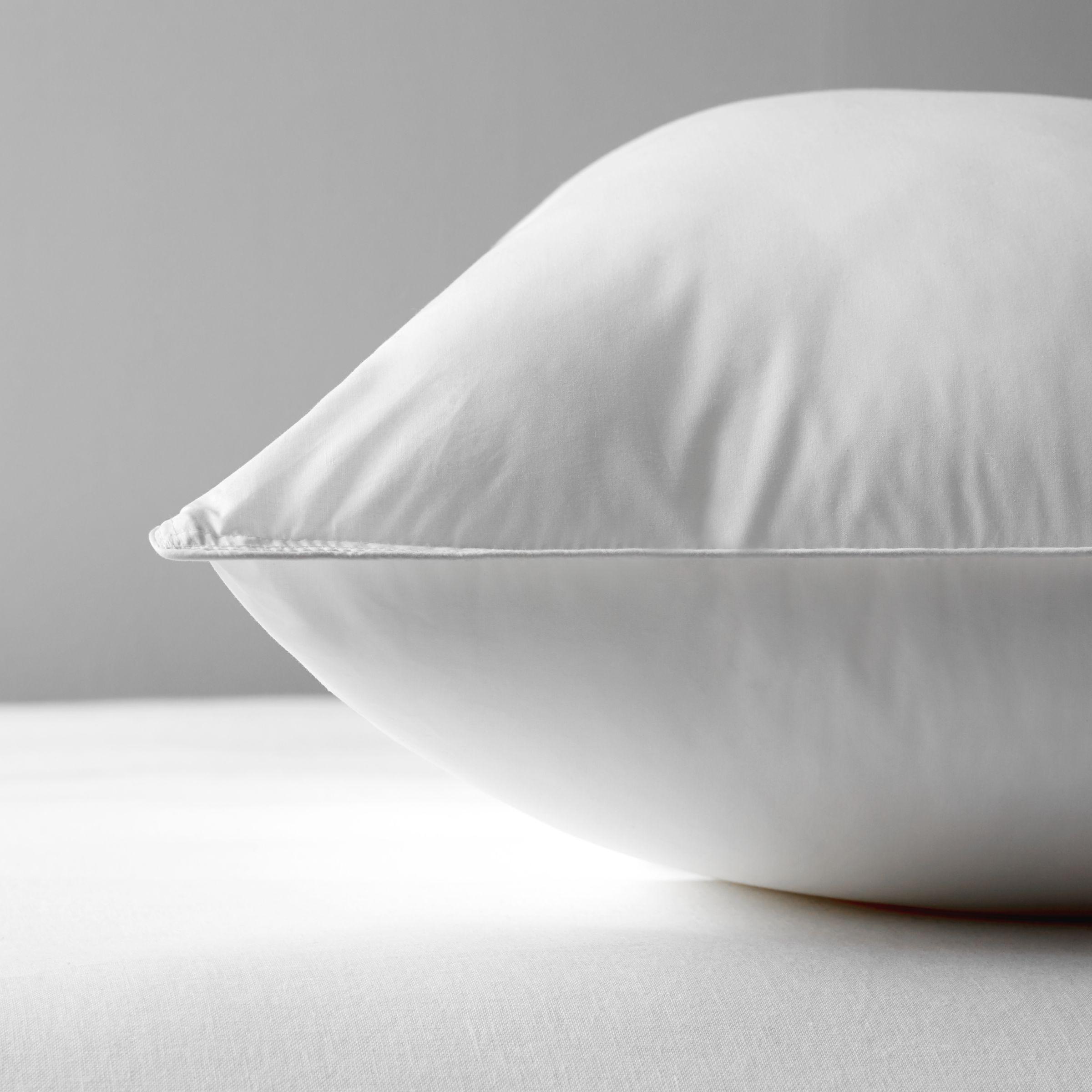 john lewis partners synthetic soft like down standard pillow soft medium