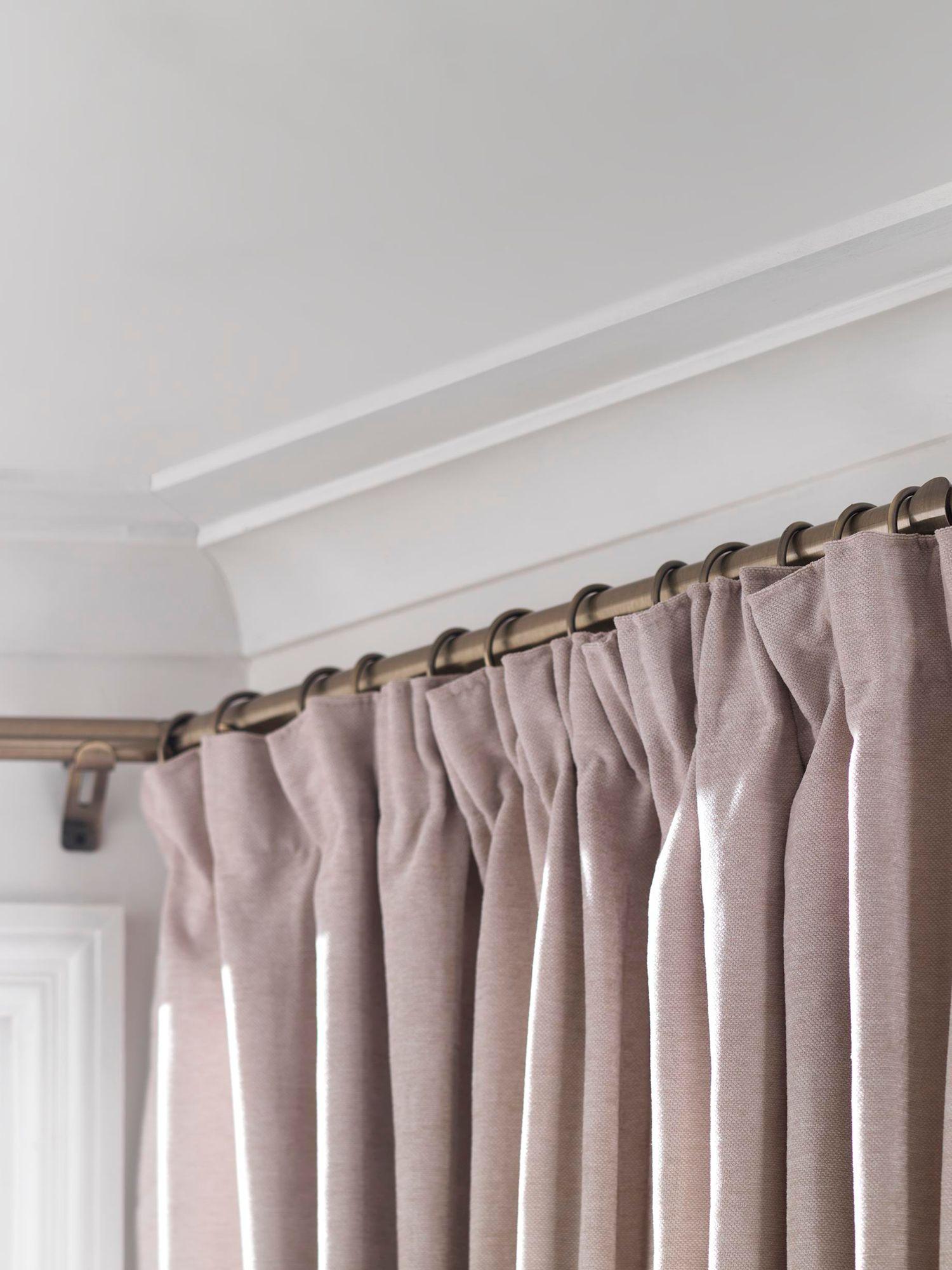 Swish Elements Bay Window Curtain Pole Kit L400cm X Dia 28mm At John Lewis Partners