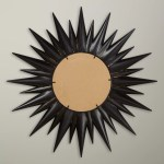 John Lewis Partners Large Sunburst Mirror Dia 92cm Gold Black At John Lewis Partners